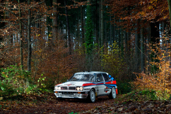 Lancia Delta Integrale photo campaign