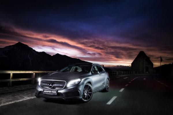 Mercedes AMG photo campaign at the Großglockner Hochalpenstraße in cooperation with Bildsymphonie.