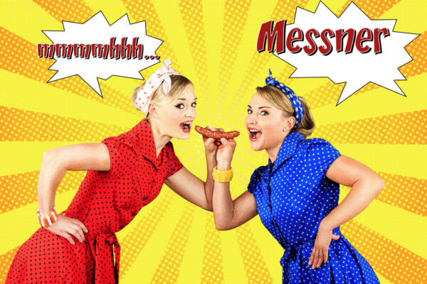 century photo campaign for Messner Wurst