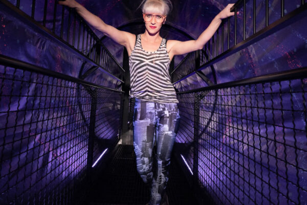 photo campaign at the Museum of Illusions in cooperation with Conny Aitzetmueller