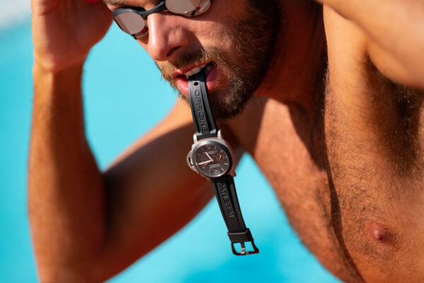 commercial photo campaign for Panerai in cooperation with Mine Kasepoglu in Italy