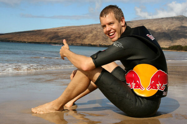 Reportage about Sebastian Vettel visiting the island of Hawaii