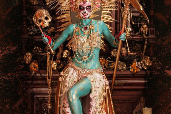 La Muerte, a photo campaign in cooperation with Birgit Mörtl.