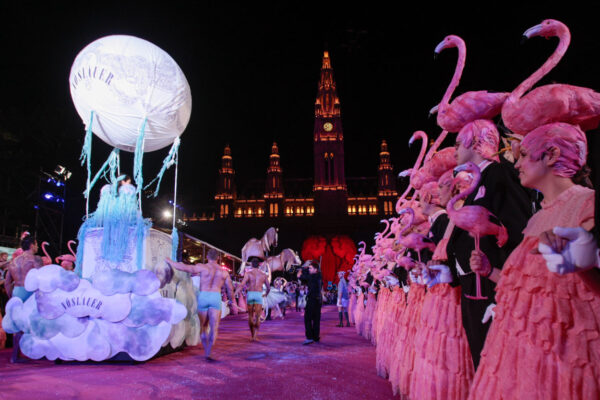 Life Ball Charity Event in Vienna.