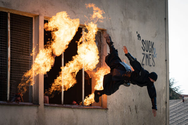Stuntworkshop with Joe Toetdling, Ivan Forlani and Jan Arthur Braun at the AVBaby Mediastudios in Graz
