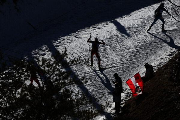 Winter sport photography